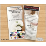 flyer para evento Parque do Carmo